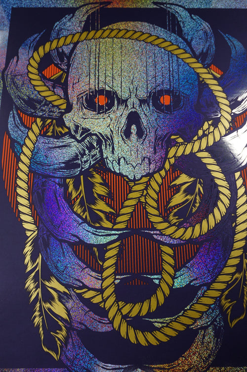 Skull Thing'a'ma'jig - 2016 Hydro76 VARIANT poster print BONES Galerie F