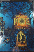Moe - 2014 Zeb Love screen printed poster FOIL edition