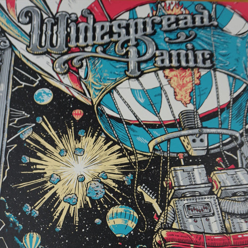 Widespread Panic - 2015 Darin Shock Pittsburgh Screen print poster
