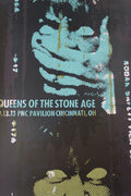 Queens of the Stone Age - 2013 Print Mafia poster Cincinnati Ohio PNC
