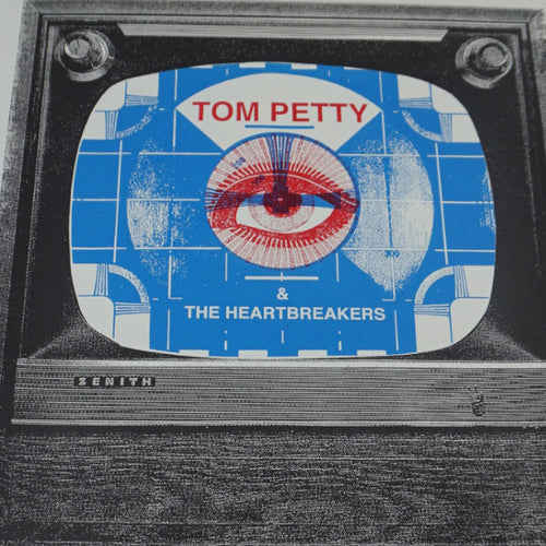 Tom Petty - 2014 Print Mafia poster Philadelphia, PA Wells Fargo Center