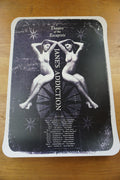 Jane's Addiction - 2012 Theater of Escapists Tour Lithograph poster