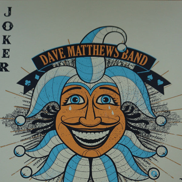 Dave Matthews Band - 2009 Methane poster Gorge, Joker George
