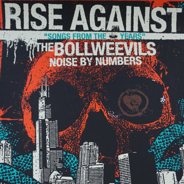 Rise Against - 2009 poster Chicago Metro Bollweevils