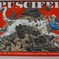 Puscifer - 2016 Tim Doyle AP poster signed Providence, RI Veterans