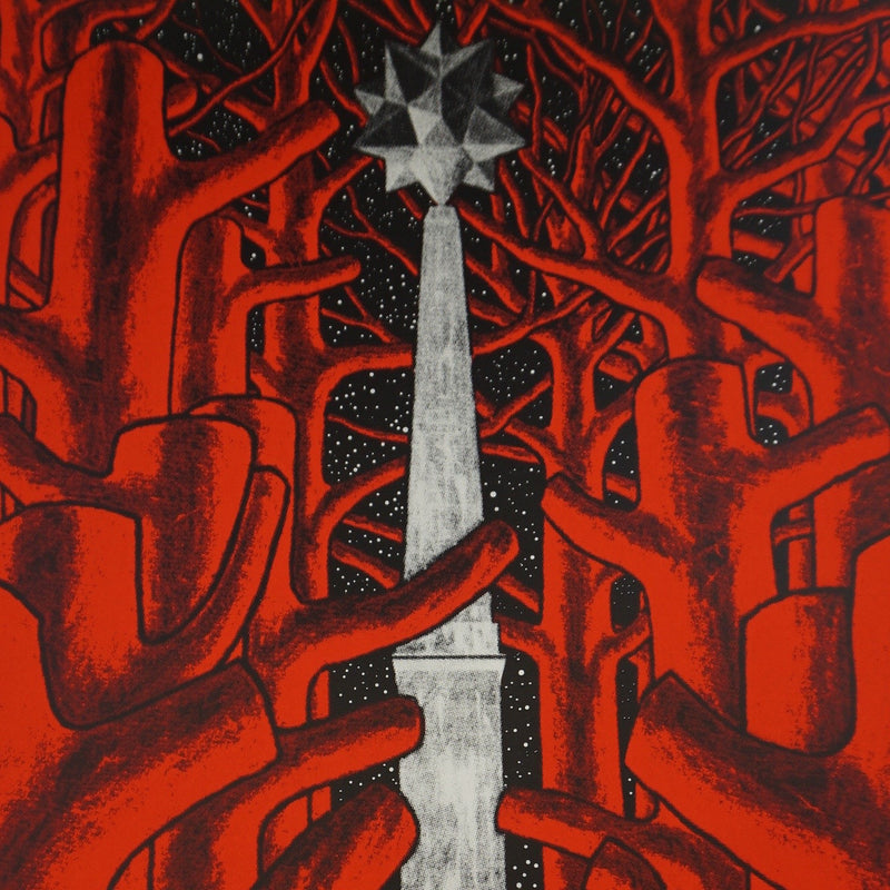 Provocateurs - 2014 Stanley Donwood Shepard Fairey Chicago poster Art Alliance
