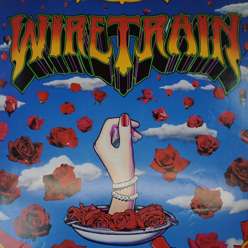 Wiretrain - 1990 poster Spin, Tin Jesus, Should She Cry