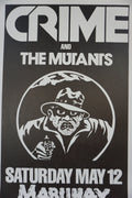 Crime - 1978 James Stark poster The Mutants San Francisco