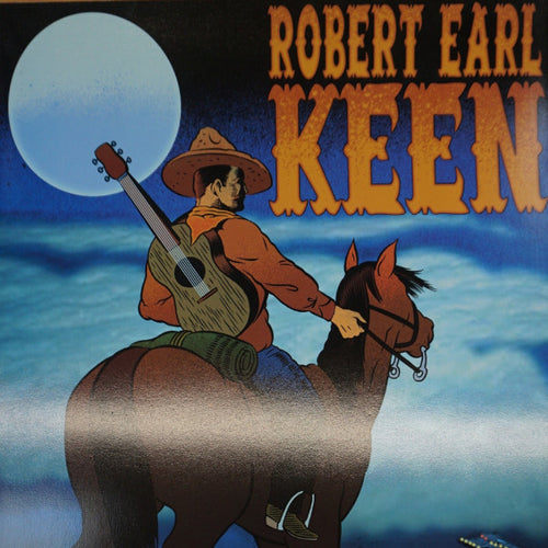 Robert Earl Keen - 2005 Chuck Sperry Firehouse poster Santa Cruz