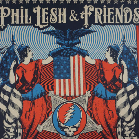 Phil Lesh & Friends - 2016 Status Serigraph poster Grateful Dead