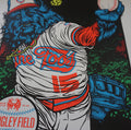 Foo Fighters - 2015 Ames Brothers Bros. VARIANT poster Wrigley Chicago