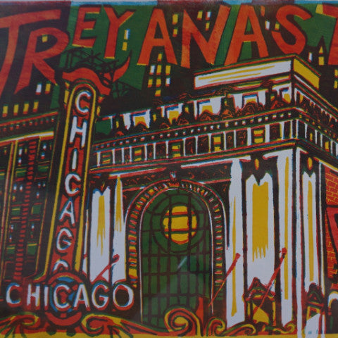 Trey Anastasio Band - 2012 Jim Pollock poster Chicago, IL