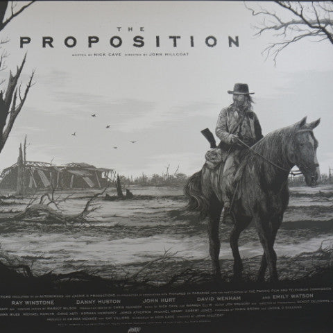 The Proposition - 2016 Ken Taylor poster movie/cinema MONDO Variant