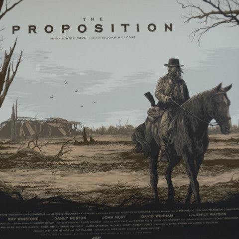 The Proposition - 2016 Ken Taylor poster movie/cinema MONDO 1st