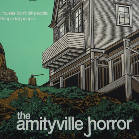 Amityville Horror - 2013 N.E. poster Odd City Movie/Cinema S/N
