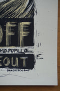 Off on Off - 2009 Dan Grzeca poster Chicago, IL Hideout