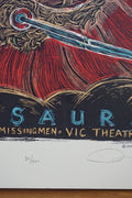 Dinosaur Jr - 2009 Dan Grzeca poster Chicago, IL Vic Theater