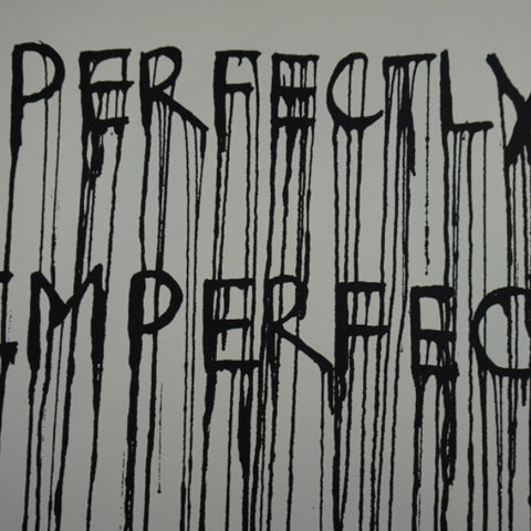 Perfectly Imperfect - 2015 Hijack poster street art Brainwash