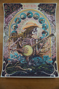 The Avett Brothers - 2015 Miles Tsang poster Tallahassee, FL REGULAR ED