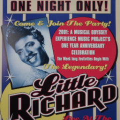 Little Richard - 2001 Dennis Loren poster Seattle Sky Church