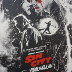 Sin City A Dame To Kill For - 2014 Paul Shipper poster Odd City