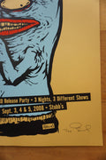 Toadies - 2008 Billy Perkins poster Austin Texas Stubb's BBQ