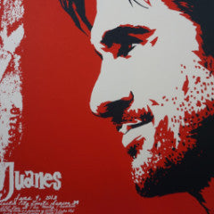 Juanes - 2013 Billy Perkins poster Austin City Limits Texas Moody