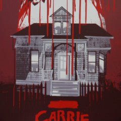Carrie - 2013 Jessica Deahl of Odd City Entertainment horror classic poster S/N