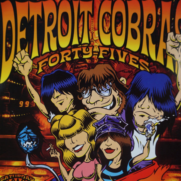The Detroit Cobras - 2004 Dirty Donny poster West Hollywood, CA