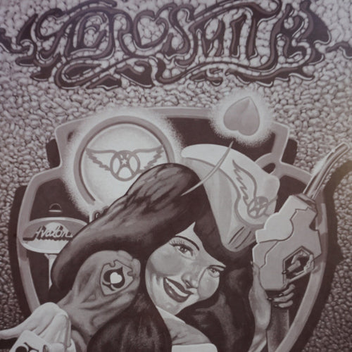 Aerosmith - 1990 Danny Garrett poster Los Angeles The Forum