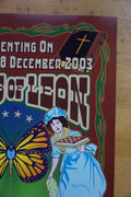 Kings of Leon - 2003 Dennis Loren poster Rock City Nottingham