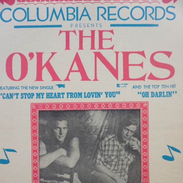 The O'Kanes - 1987 Columbia Records Hatch Show Prints Poster