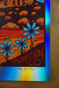 Eric Church - 2016 Jim Mazza poster Red Rocks Morrison, CO FOIL 8/9