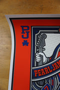 Pearl Jam - 2016 Mark 5 poster Boston Fenway show ed