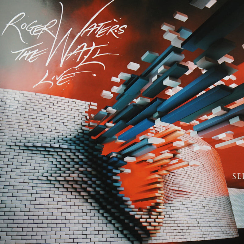 Roger Waters The Wall - 2010 Gerald Scarfe poster United Center Chicago