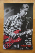 The Derek Trucks Band - 93XRT AUTOGRAPHED by Trucks poster