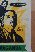 Bad Brains - 2016 Shepard Fairey poster Obey Giant Punk Rock