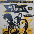 Bad Brains - 2016 Shepard Fairey poster Obey Giant Punk VARIANT
