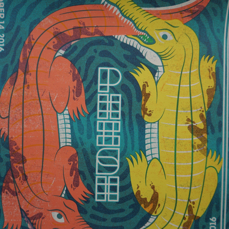 Phish - 2016 The Half and Half Poster North Charleston