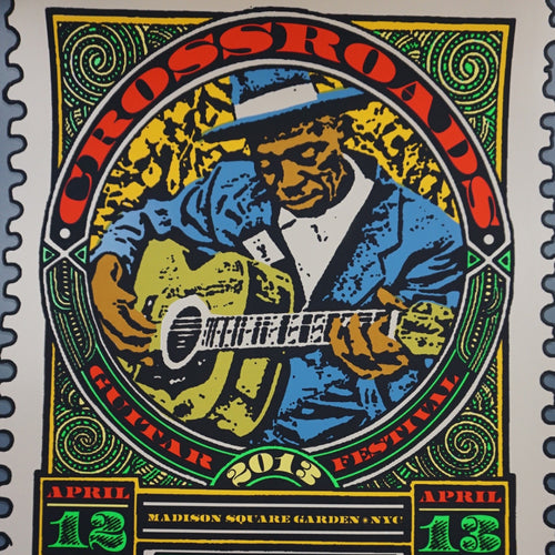 Crossroads - 2013 Ron Donovan, Chuck Sperry Poster Stamp