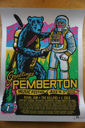 Pemberton Festival - 2016 Ames Brothers poster VARIANT Pearl Jam