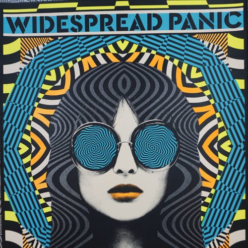 Widespread Panic - 2016 Nate Duval Poster James Brown Augusta
