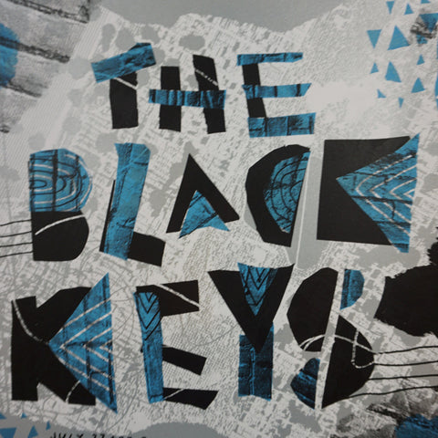 The Black Keys - 2010 Nate Duval Poster New York Central Park