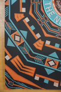 Grace Potter - 2015 Nate Duval Poster Red Rocks Nocturnals