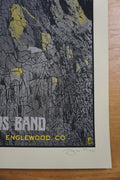 Dave Matthews Band - 2015 Methane poster Englewood Fiddler's