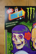 Vans Warped Tour - 2015 poster monster energy skateboarding