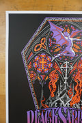 Black Sabbath - 2016 Hazmat poster United Center Chicago Botafumeiro