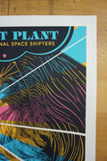 Robert Plant - 2016 John Vogl poster Dallas, TX Moody Theater