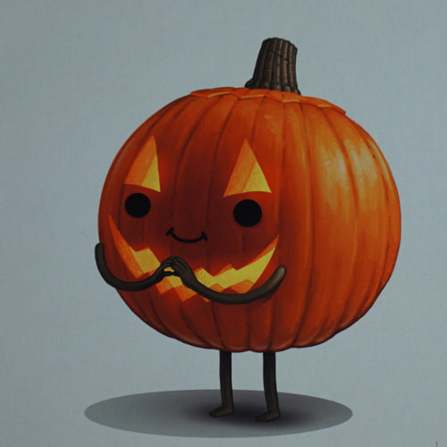 Current Mood #3 - 2016 Mike Mitchell poster print pumpkin