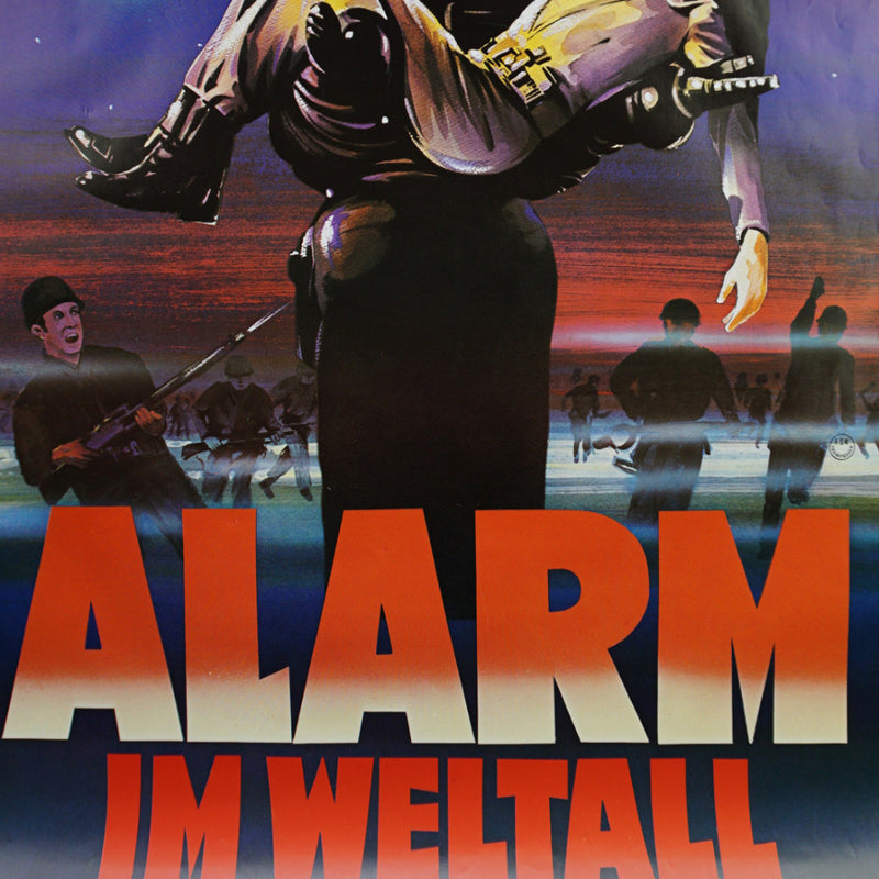 Alarm Im Weltall - 1956 original one sheet poster movie cimema